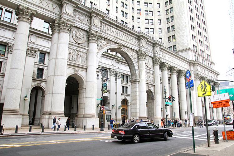 ニューヨーク市庁舎