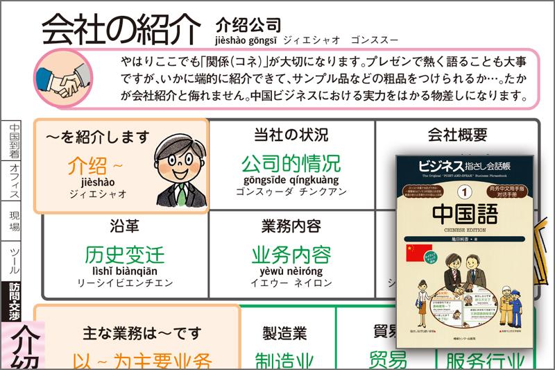 ビジネス指さし会話帳シリーズ