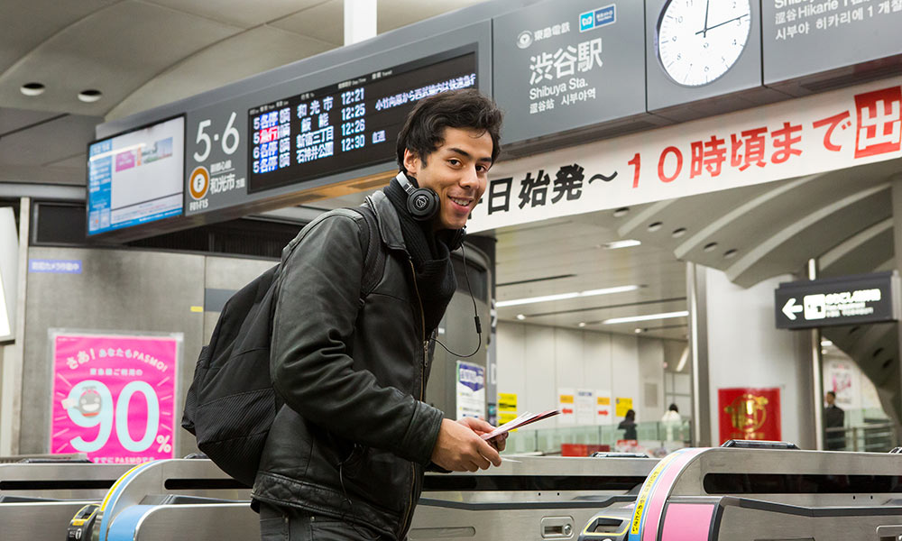 Take a short trip and wander around towns from Shibuya to Yokohama on the Tokyu Lines