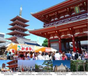 Simple Tour Plan Tokyo