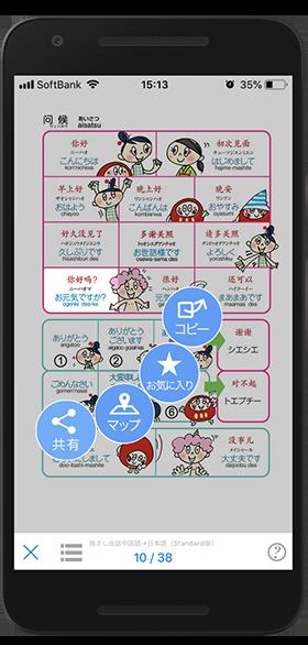 YUBISASHIアプリ 共有機能