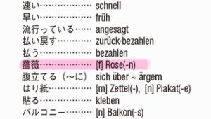 『旅の指さし会話帳20ドイツ』単語集より