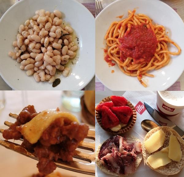 イタリアで食べたもの