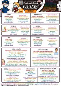 Point-and-Speak YUBISASHI Asia Editon for Covid-19 p4