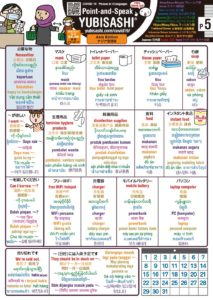 Point-and-Speak YUBISASHI Asia Editon for Covid-19 p5