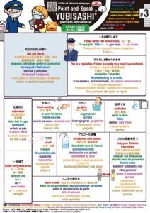 Point-and-Speak YUBISASHI Europe Editon for Covid-19 P3