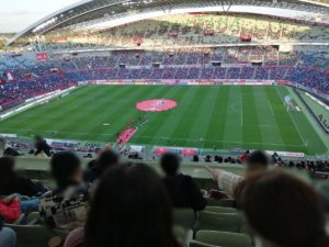 埼玉スタジアム2002でのJリーグの試合で、コロナ対応策を見てきました