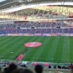 埼玉スタジアム2002で、Jリーグ・浦和レッズのコロナ対策を見てきました