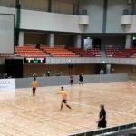 東京パラリンピックの競技、ブラインドサッカーのイベントに参加しました@平塚総合体育館