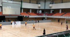 東京パラリンピックの競技、ブラインドサッカーのイベント