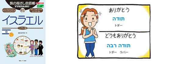 世界の言葉 イスラエル(ヘブライ語) ありがとう