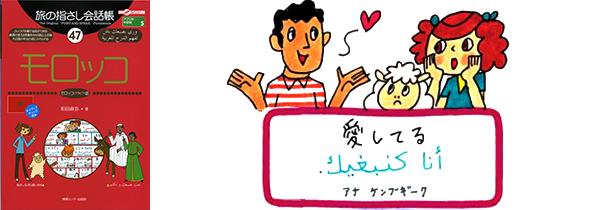 世界の言葉モロッコ語愛してる
