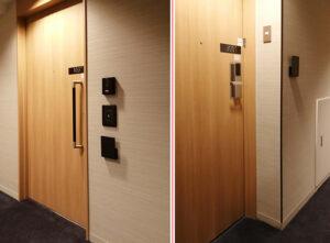 左がユニバーサルルーム、右が一般の客室