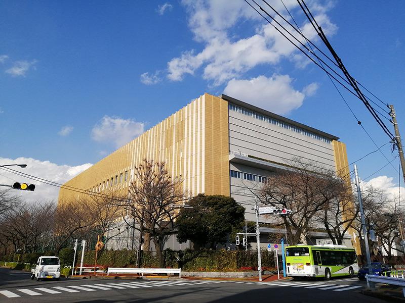 カルロス・ユーロ選手の練習の拠点の一つ、東京・北区の味の素ナショナルトレーニングセンター