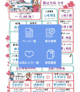 指さし会話台湾 ページ一覧 索引検索 お気に入り一覧 使用履歴